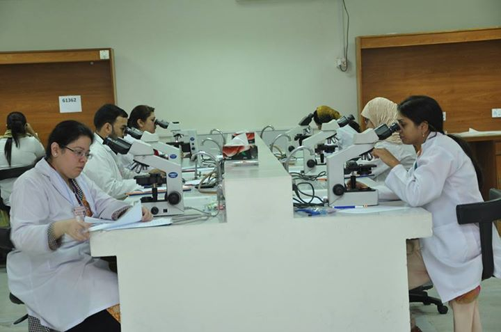 FCPS-II Histopathology Exam at FMH College of Medicine & Dentistry