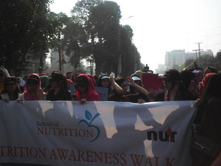 Nutrition Awareness Walk