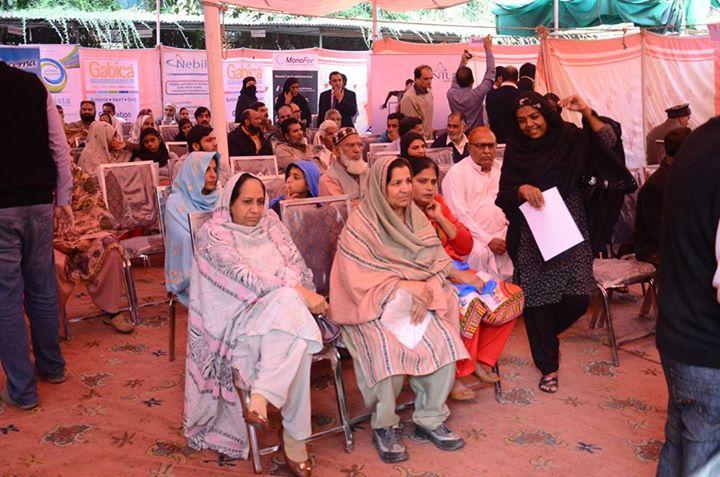 Diabetes Awareness Free Camp held at Fatima Memorial Hospital