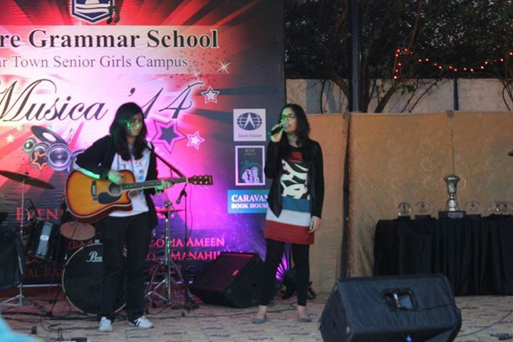 FMH Music And Arts Society at LGS JT MUSICA'14