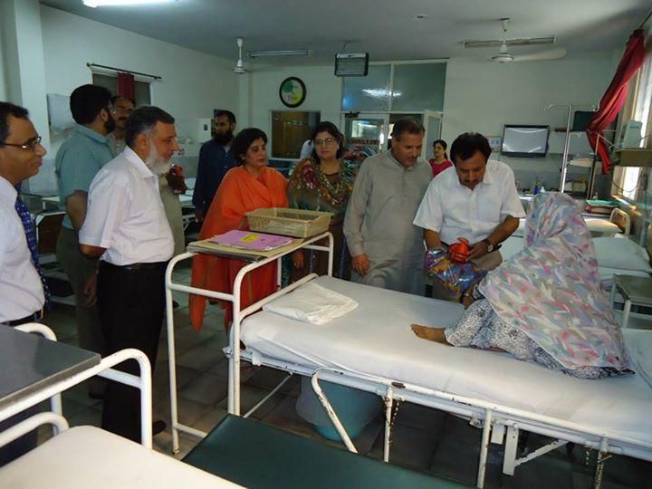 Eidi for Fatima Memorial Hospital Patients