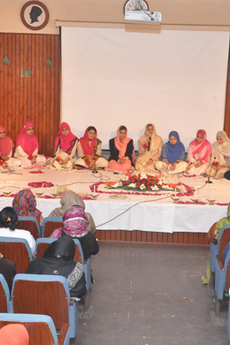 Mehfil-e-Milad held by Saida Waheed FMH College of Nursing